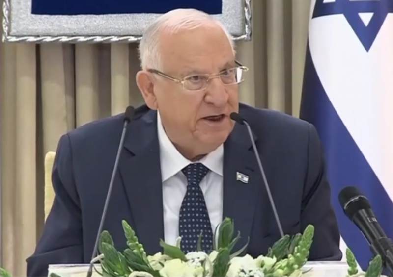 President Rivlin handed the mandate to form the government to Benjamin Netanyahu