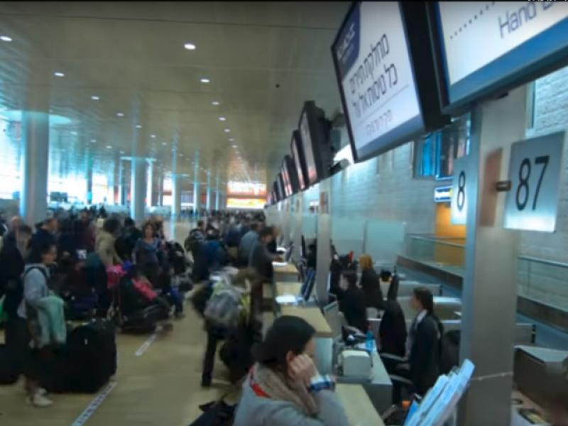 2.2 million passengers passed through Ben-Gurion Airport in September