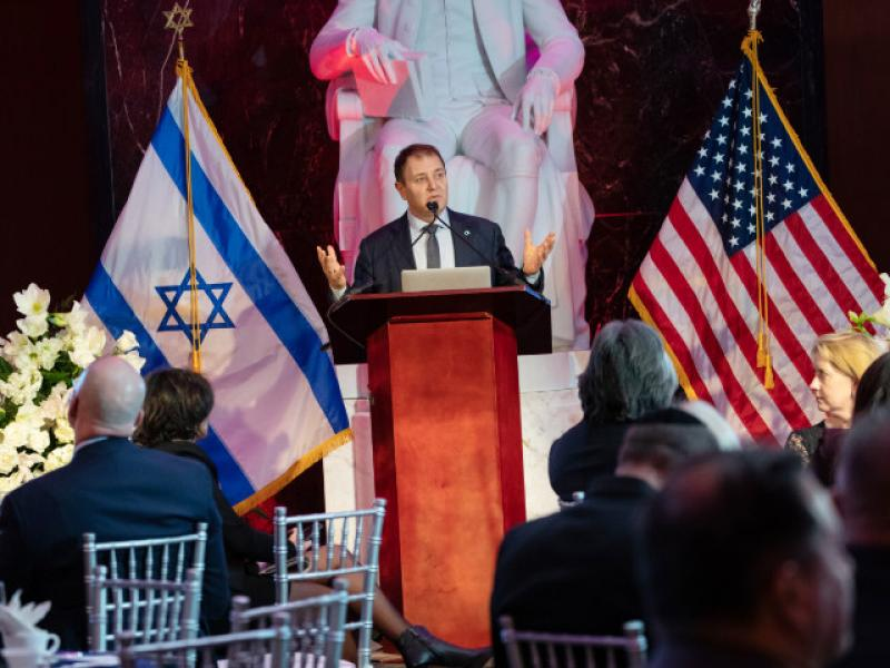 Israel Embassy in Washington hosted Israeli technology -- OrCam'S  artificial vision