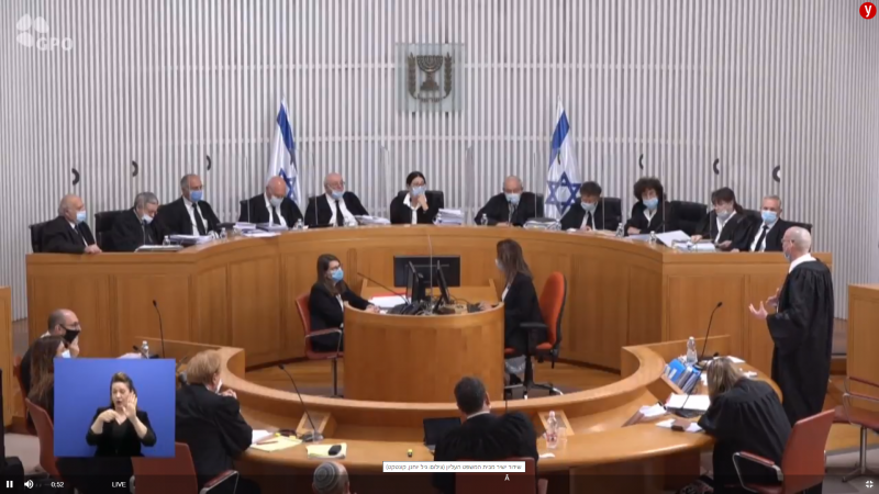 The High Court of Justice: there is no legal cause to deny from Netanyahu to form a government