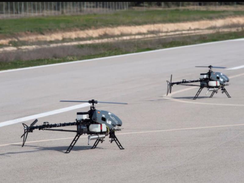 IAI presents: Tiny helicopters without a pilot can carry loads weighing tens of kilograms