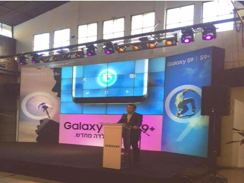 Sansung launched in Israel it's flagship series Galaxy S9 and 9+