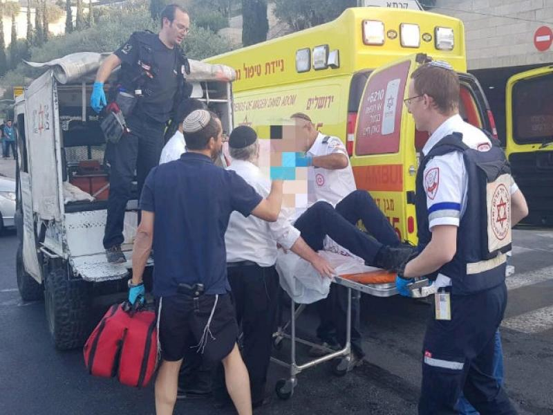 Double stabbing attack: an Israeli was seriously wounded