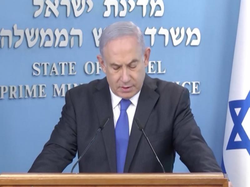 Promises...promises: Prime Minister Netanyahu presented the much-awaited assistance plan